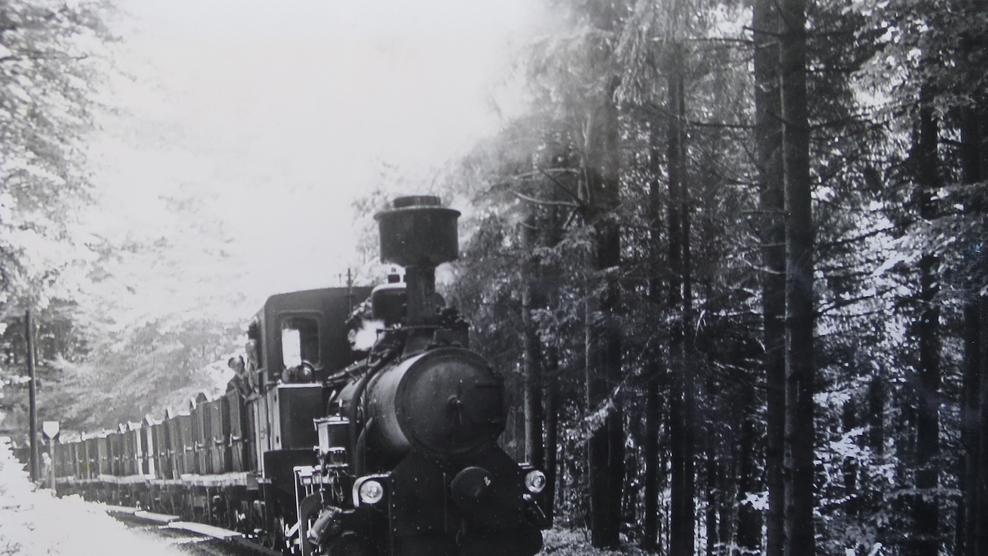 Foto Kohlezug (Archiv Buchleiten)