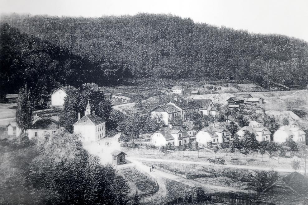 Foto Blick auf Ort (Archiv Obrist)