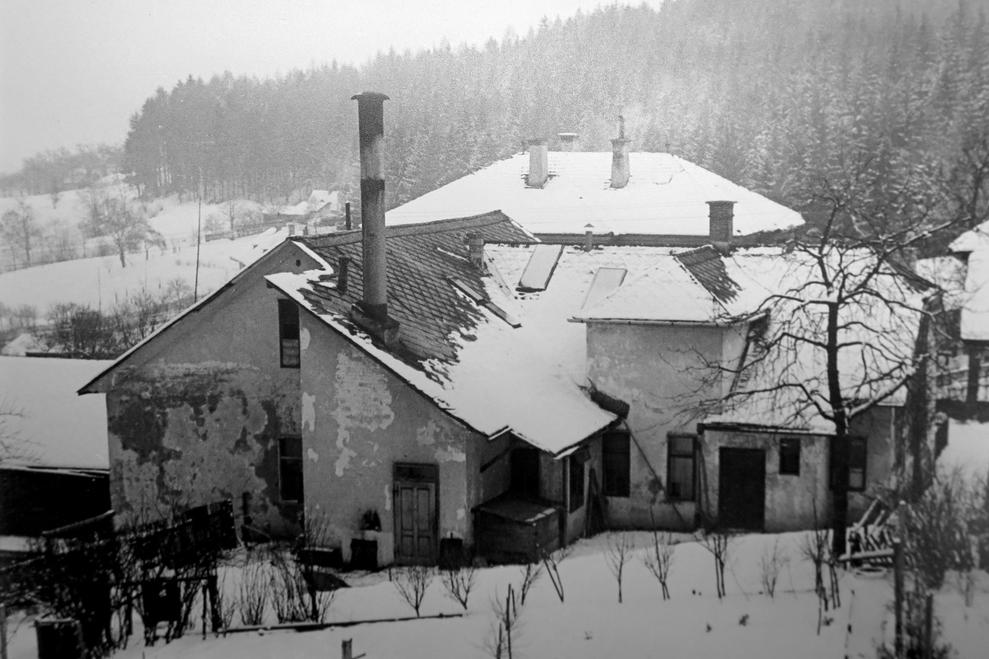 Foto der Badeanstalt (Archiv Buchleiten)