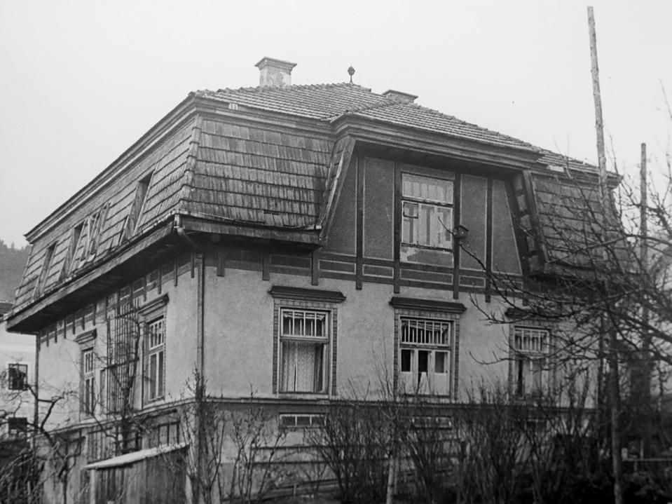 Foto des Marodenhauses (Archiv Buchleiten)