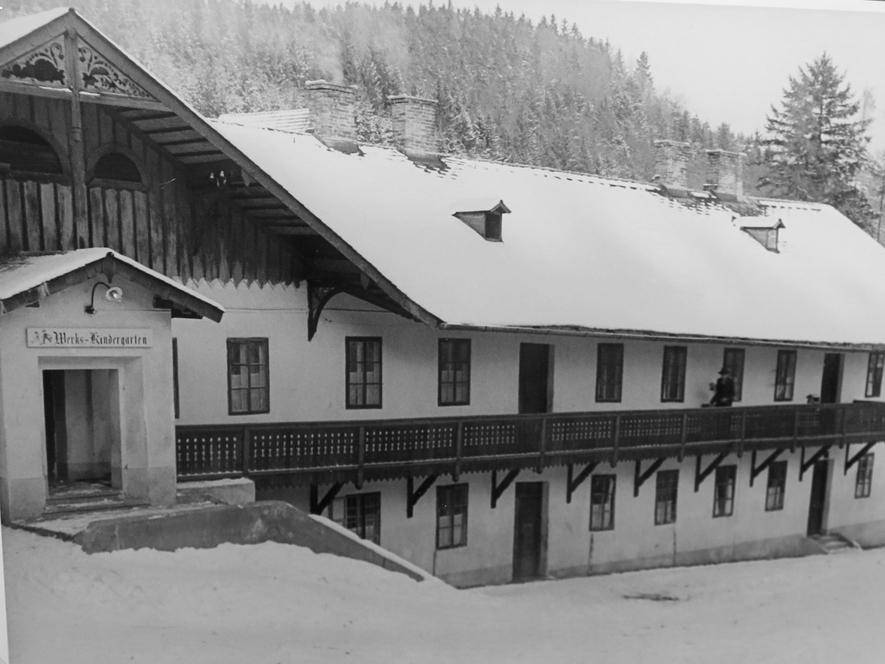 Foto des Werkskindergartens (Archiv Buchleiten)