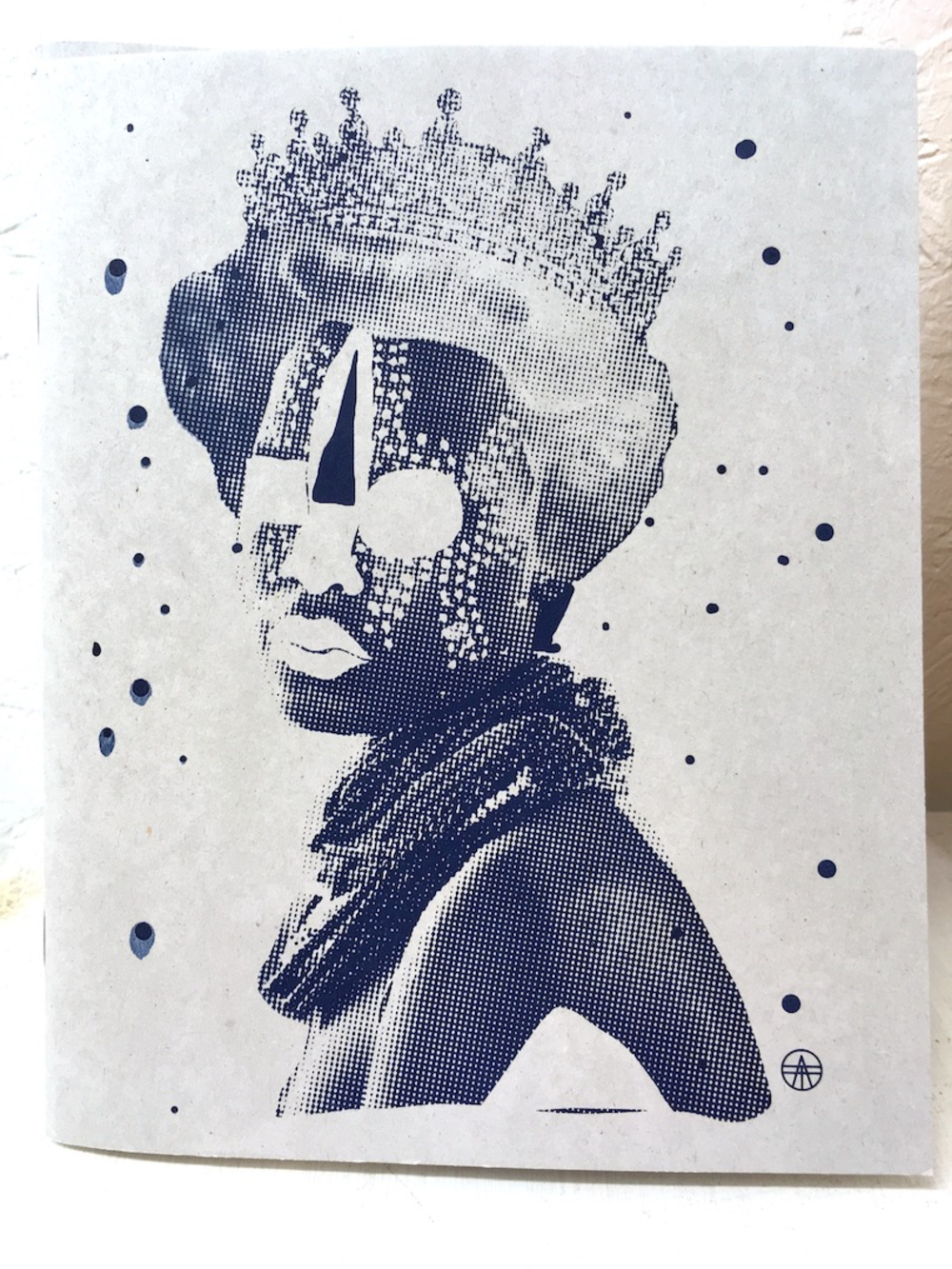 Bild Queen Sketchbook grau