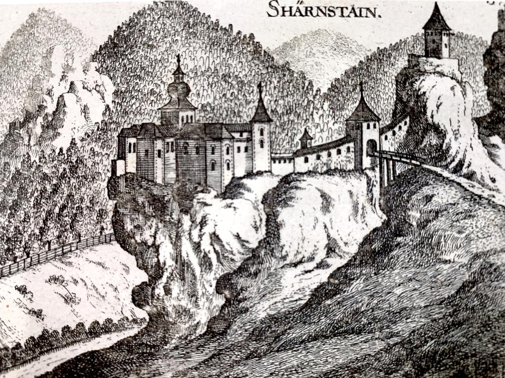 Vischer-Kupferstich, um 1674