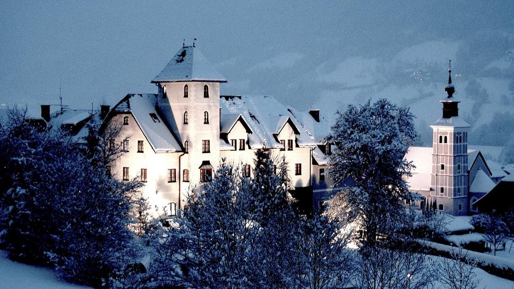 Außenansicht Hotel Schloss Thannegg