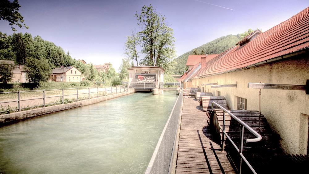 Foto Außenansicht Kraftwerk Geyerhammer