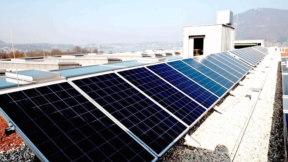 Photovoltaik-Anlage am Dach