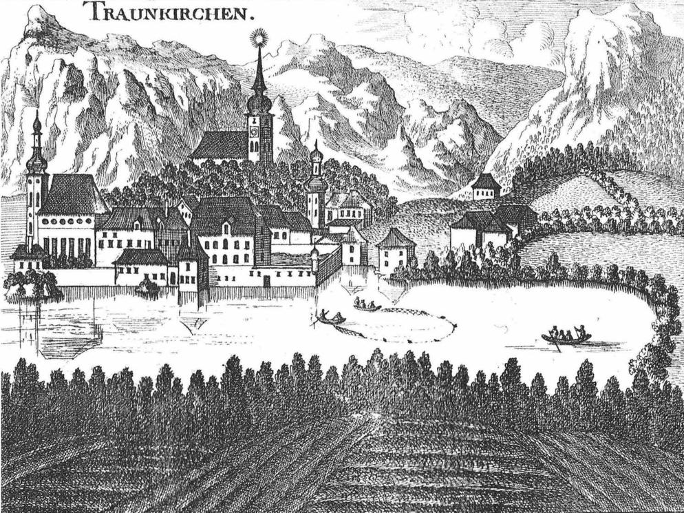 """Der Stich ist aus """"Georg Matthaeus Vischer Topographie von Oberösterreich, 1674"""", Hrg. E. Straßmayr OÖLA, Vlg. Pirngruber, Linz, 1923"""