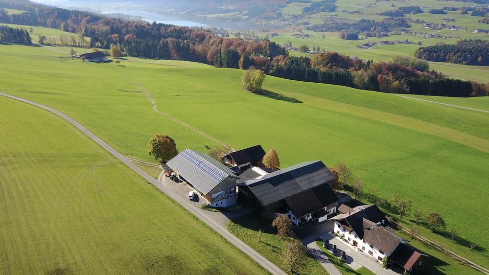Blick vom Koglerhof auf den Irrsee, © Bild: ENdorado GmbH