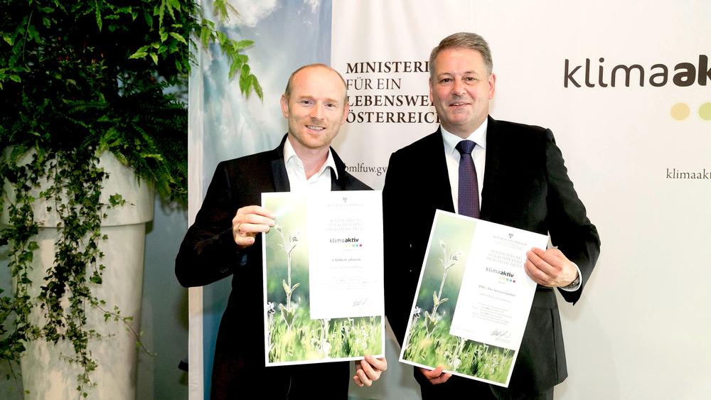 klimaaktiv Partner, Energiepflanzen Umweltminister Rupprechter © Bild: BMLFUW/ Robert Strasser
