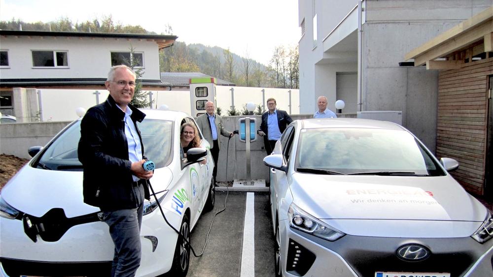 E-Ladestation © Bild: Energie AG
