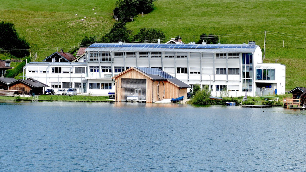 Außenansicht Gebäude © Universität Innsbruck, Forschungsinstitut für Limnologie