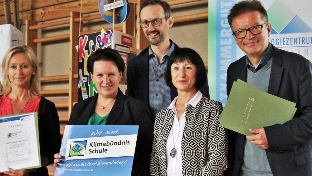 Auszeichnung Klimabündnisschule
