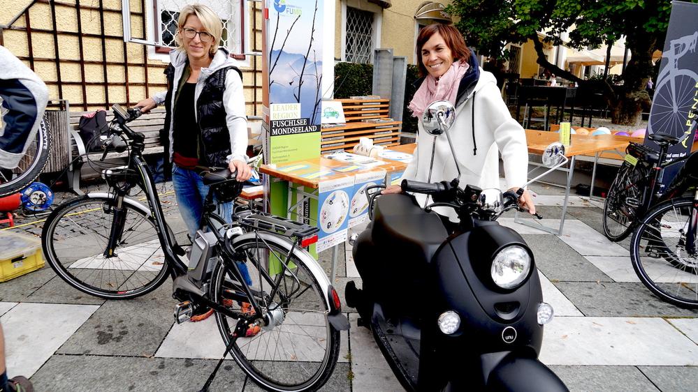 E-Roller und E-Bikes