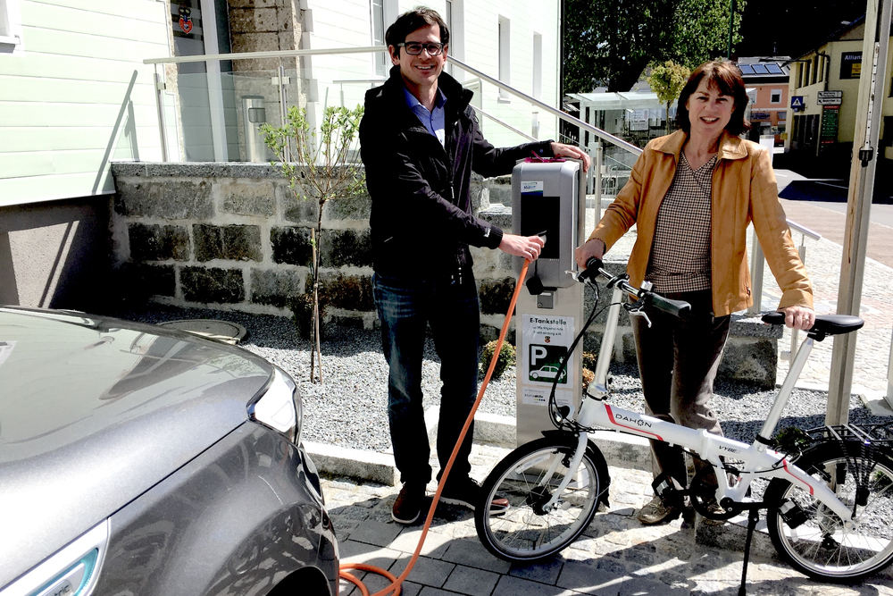 Foto E-Carsharing Station