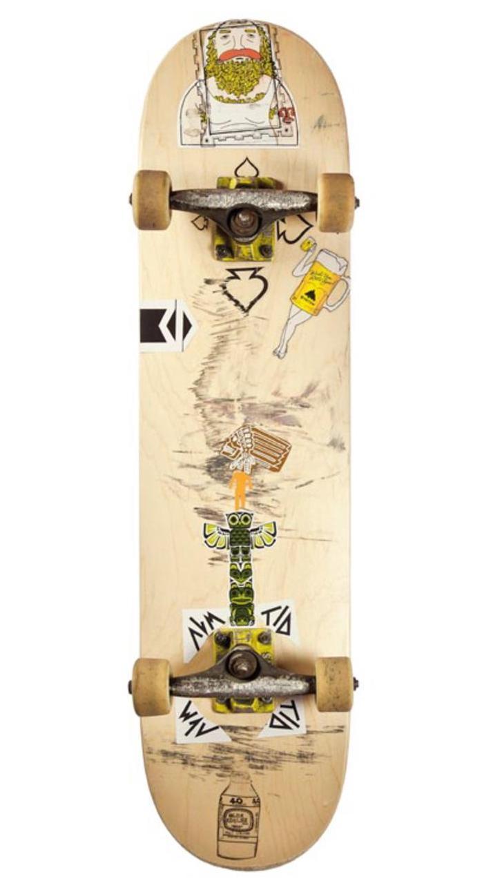 Bild des Skatedecks von Christian Georgiev-Fries