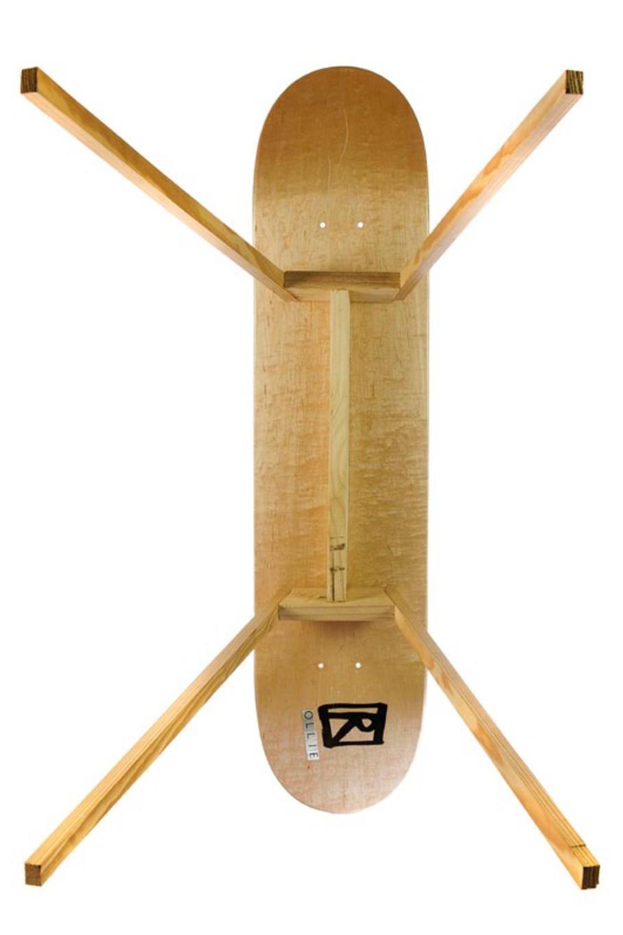 Bild des Skatedecks Ollie