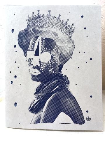 Bild Queen Sketchbook grau