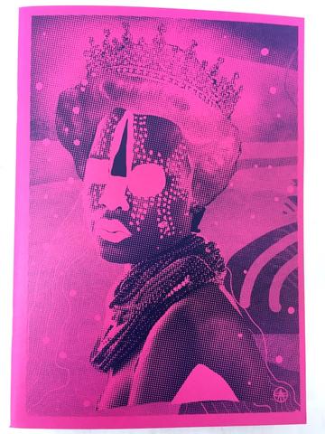 Bild des Queen Sketchbooks in pink