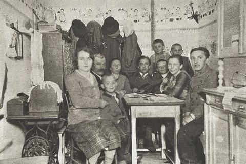 Aufnahme einer Wohnküche, 1928