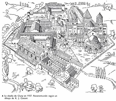 Cluny Monastery in Burgundy