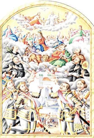 Illustration: Carl Ritter, Gmunden City Archives, manuscript 129, OÖLA