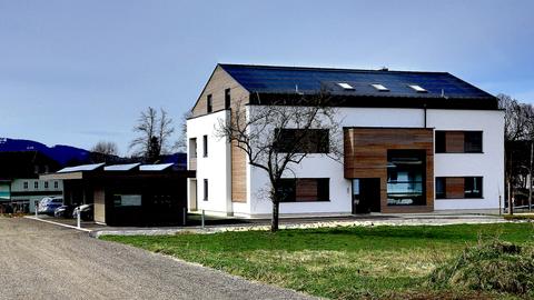 Foto Außenansicht Haus der Zukunft