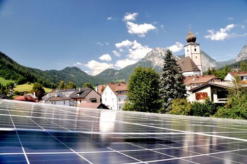 Foto der Photovoltaik-Anlage
