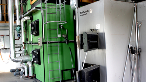 Foto Bioenergie Neukirchen Heizkessel