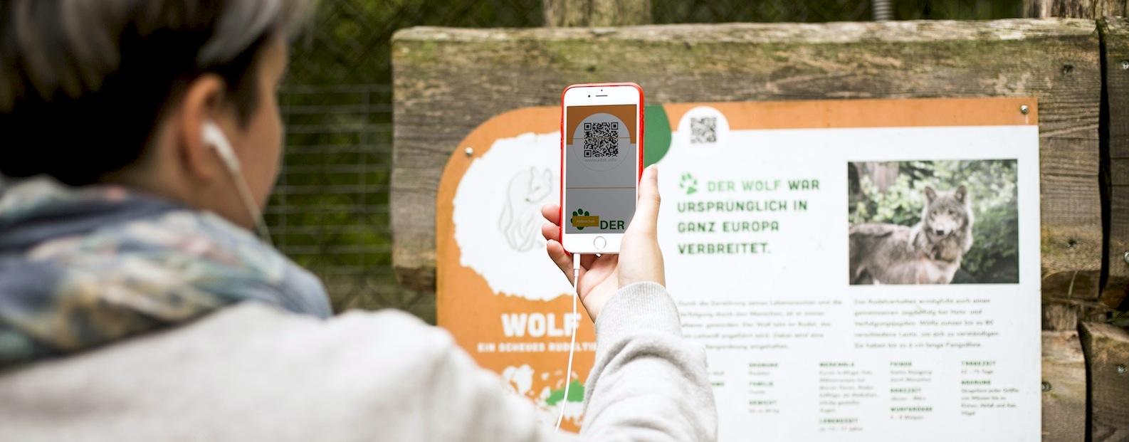 Image of Scanning a QR-code