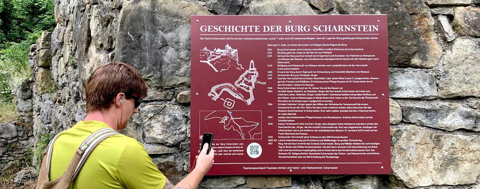 Blogteaser image of Ruin Scharnstein