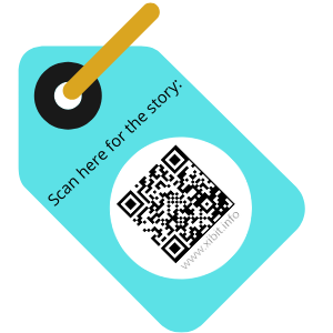 QR Code on label